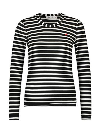 T-shirt jersey stripe