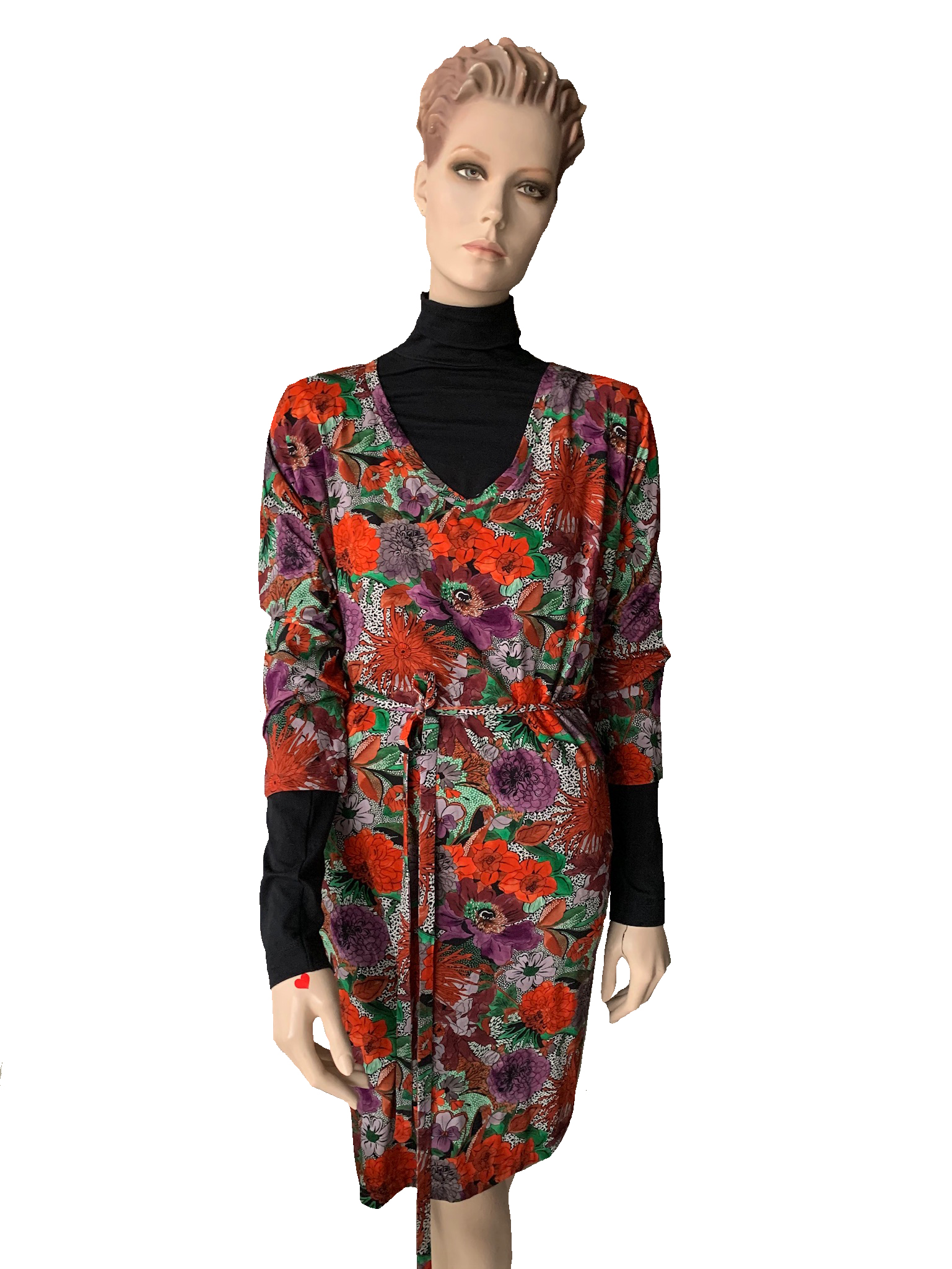 Dress - tuniek jersey print