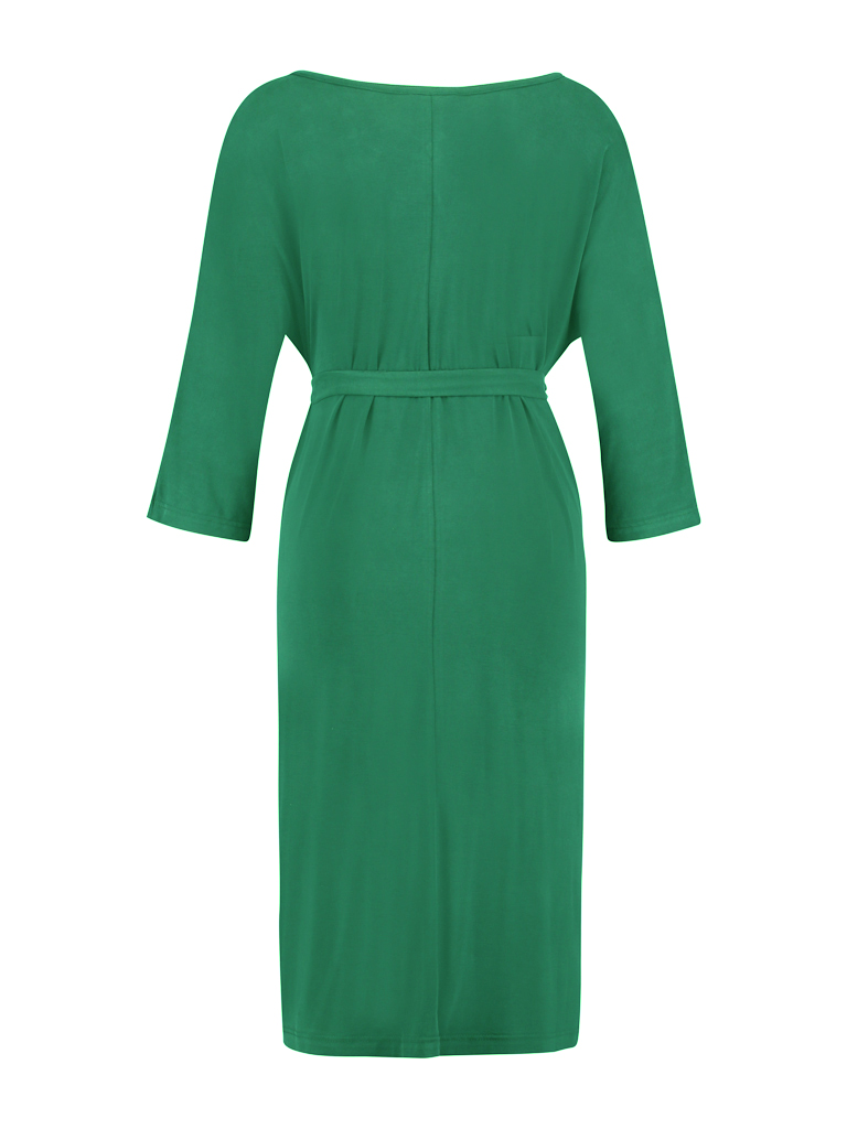 Dress long  - modal green