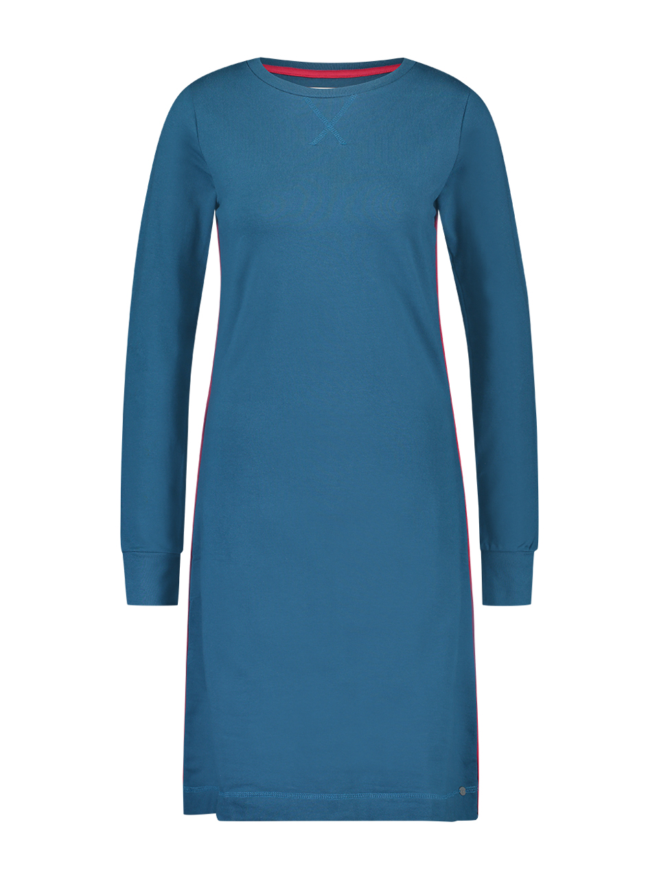 Dress french knit - Blue