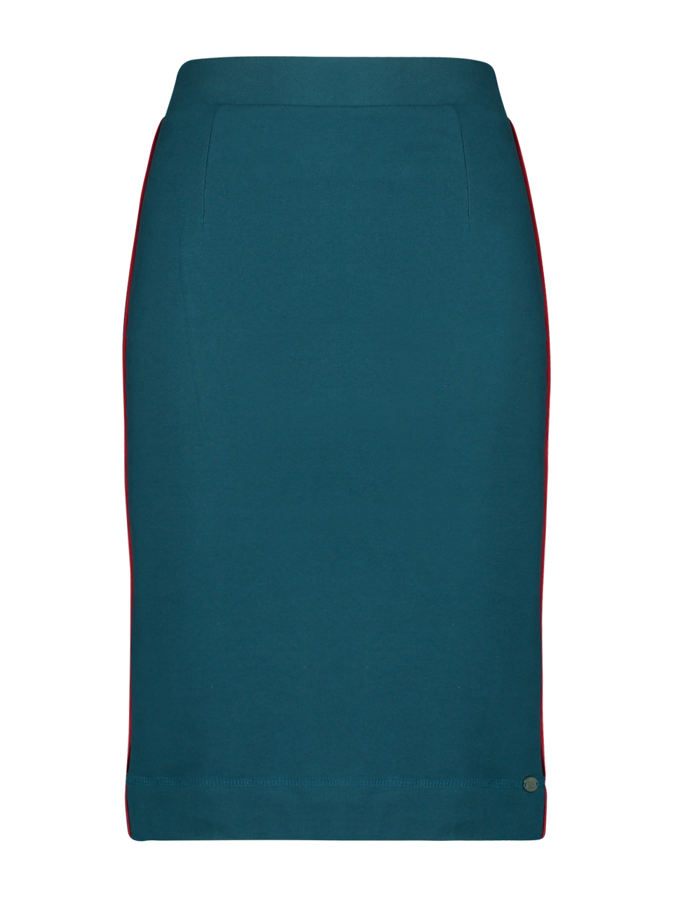 Skirt french knit - Blue ( petrol)