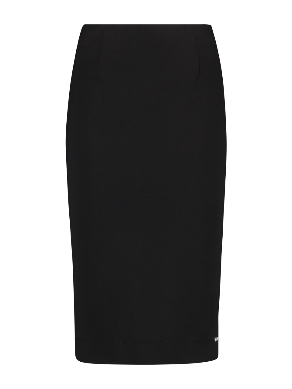 Skirt thick knit - Black