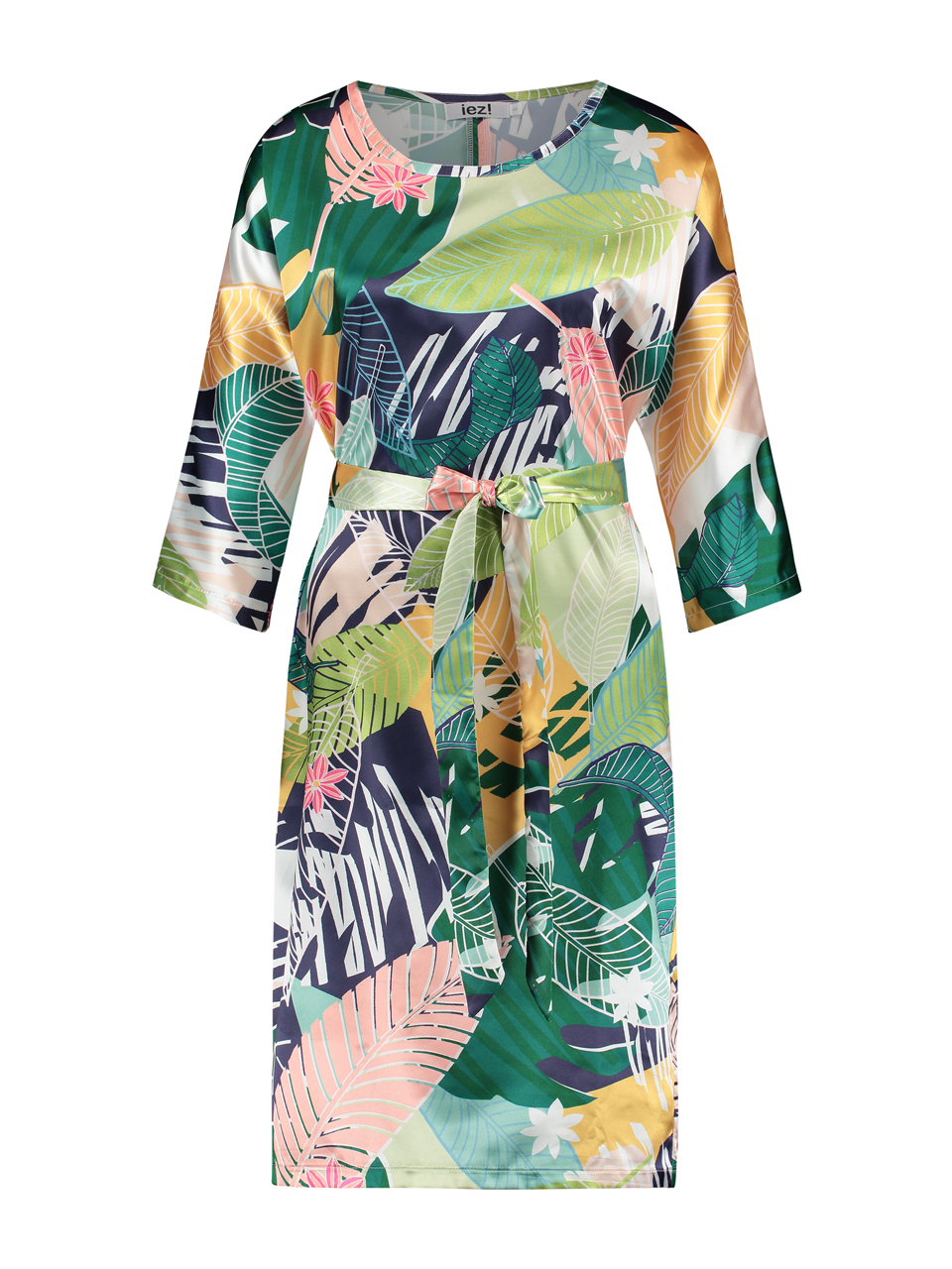 Dress / Tunic - long satin print