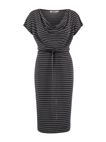 Dress drapy neckline  - modal