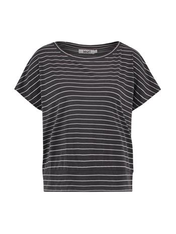 T'shirt modal - d.grey stripe