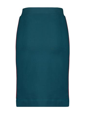 Skirt french knit - Blue