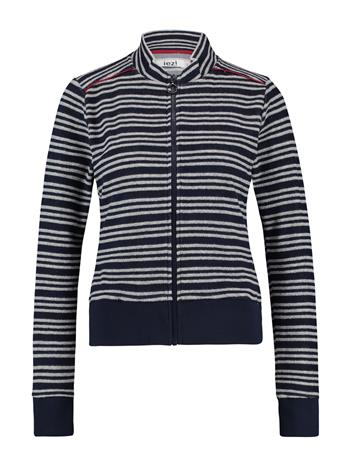 Jacket terry stripe