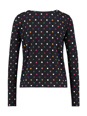 Shirt prints - D.blue/dot
